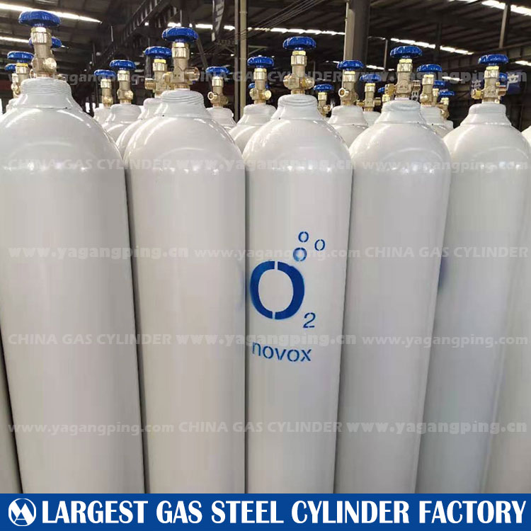 Iso9809-1 gas steel cylinder