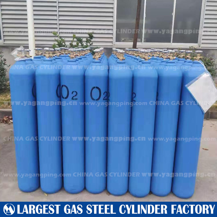 40L Seamless Steel Gas Cylinde